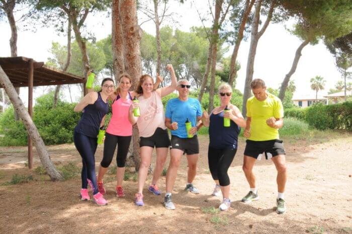 Teamspirit auf Mallorca