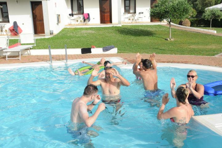 Schwimmtraining mit Ralf