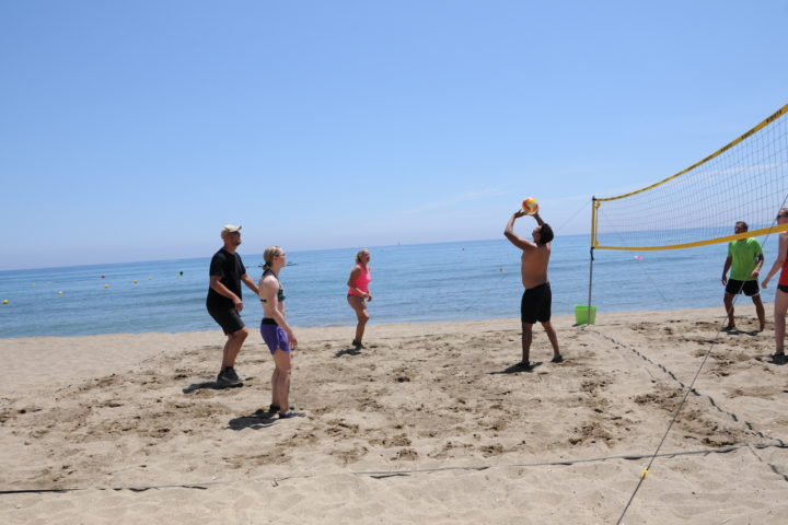 Beachvolleyball in Marbella