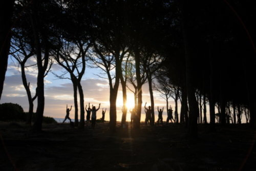 Sunrise Pilates auf Sardinien