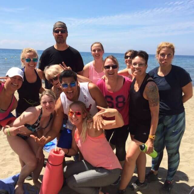 Fitness Urlaub - Teamspirit intensiv erleben