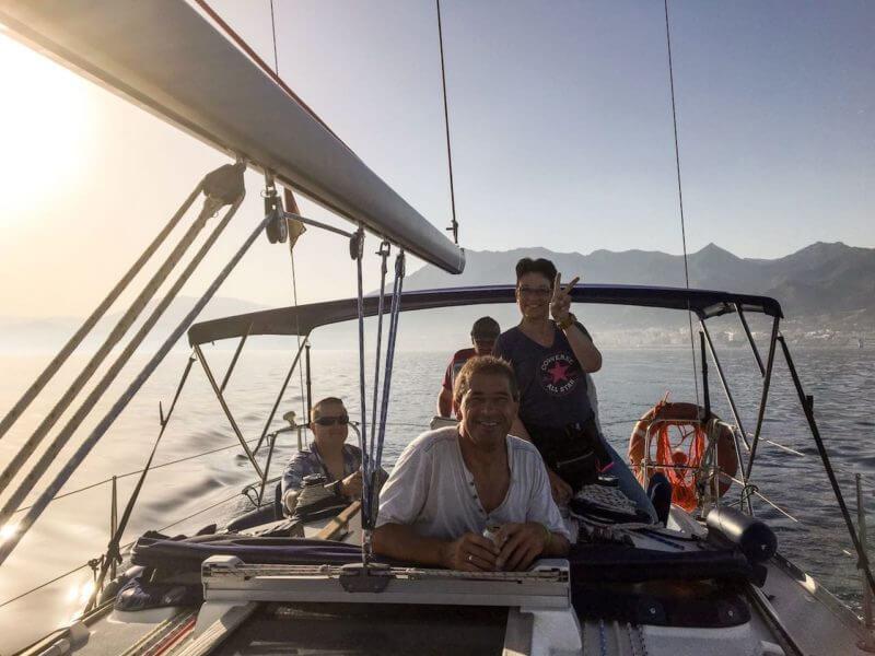 Segeln mit Ralf an der Costa del Sol