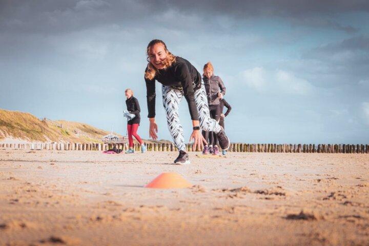 Fitnessurlaub Holland - Beachworkout