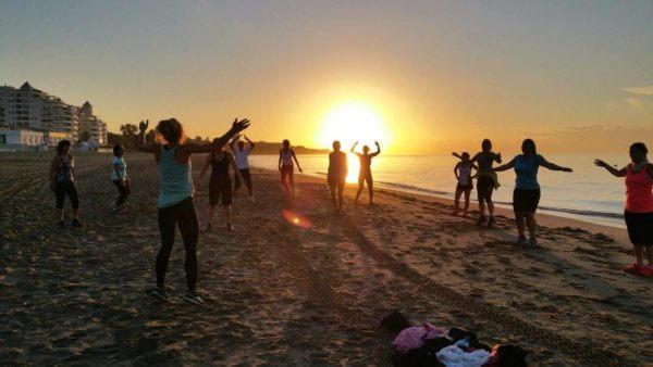 Bootcamp am Strand von Marbella