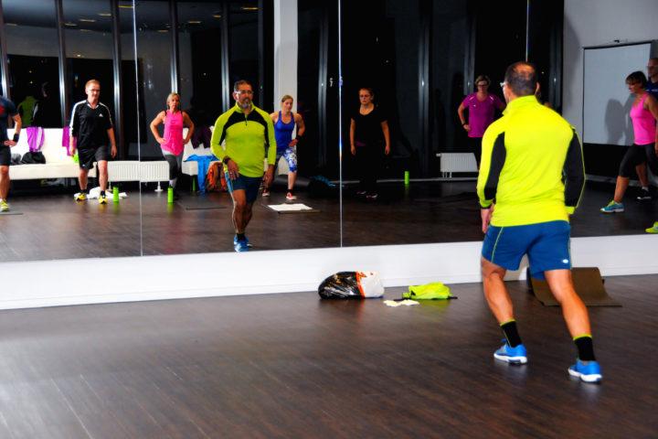 Sporteinheit mit Marwan