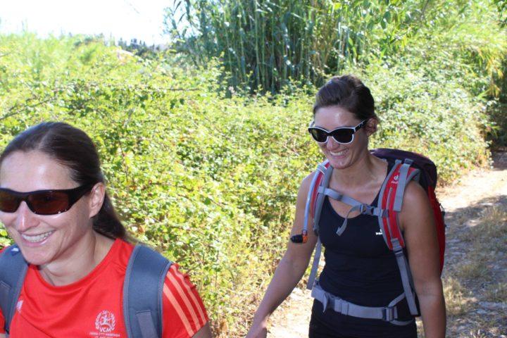 Leichte Wanderung zum Bergdorf Posada