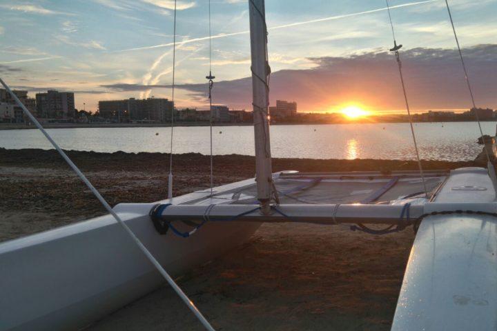 Sonnenuntergang an der Platja de Palma