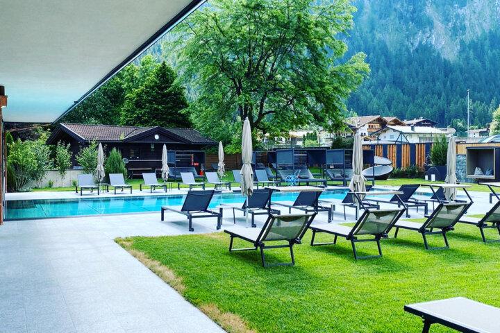 Hotel Berghof Mayrhofen - wunderschöner Spa