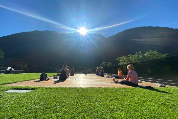 Yoga im Urlaub - Österreich
