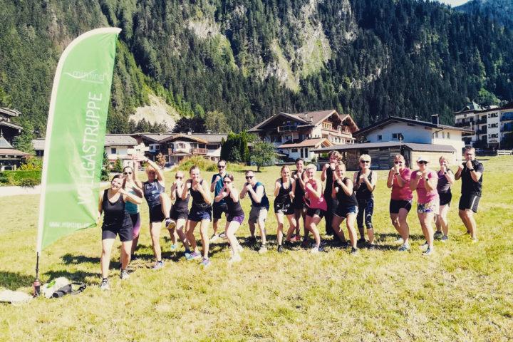 Fitnessurlaub in Mayrhofen Teamspirit in Österreich