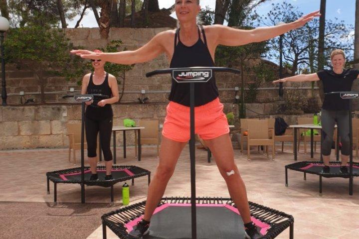 Jumping Fitness auf Mallorca