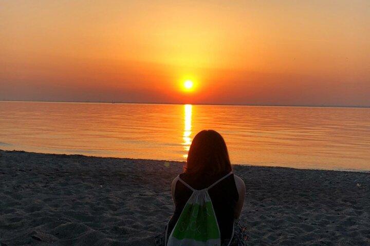 Wunderschöner Sonnenuntergang - Ostsee