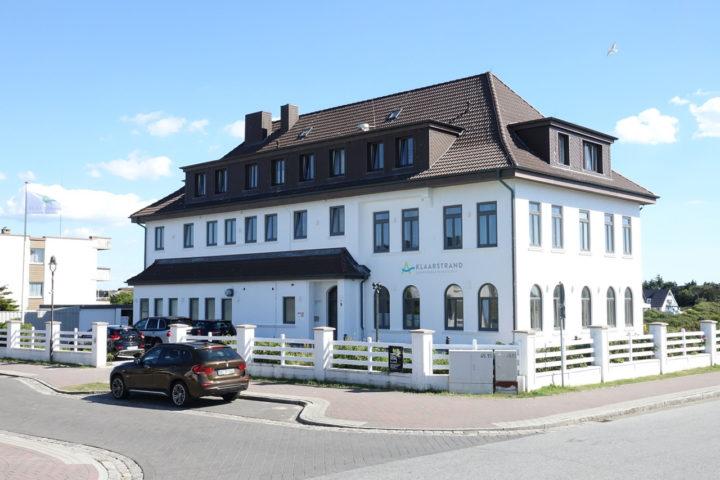 Außenbereich klaarstrand Sylt -haupthaus