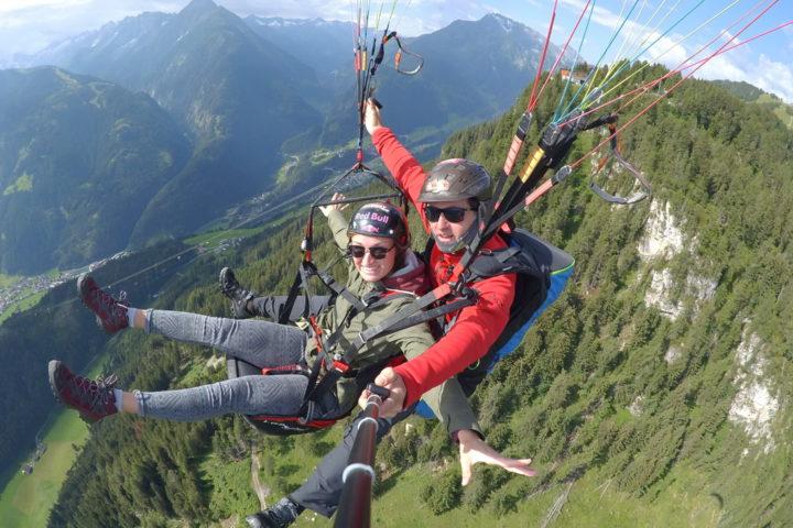 Paragliding Mayrhofen