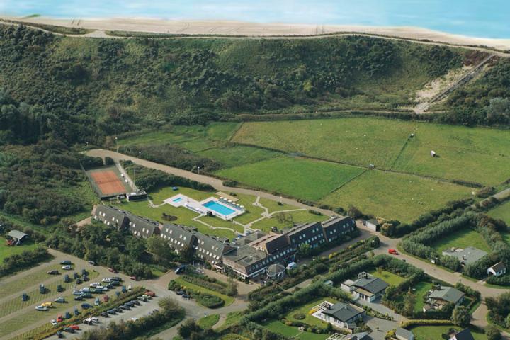 Beachhotel Westkapelle - Unser Hotel von oben