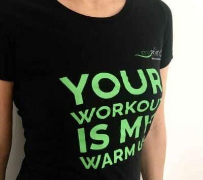 Fitness T-Shirt Your Workout is my Warmup