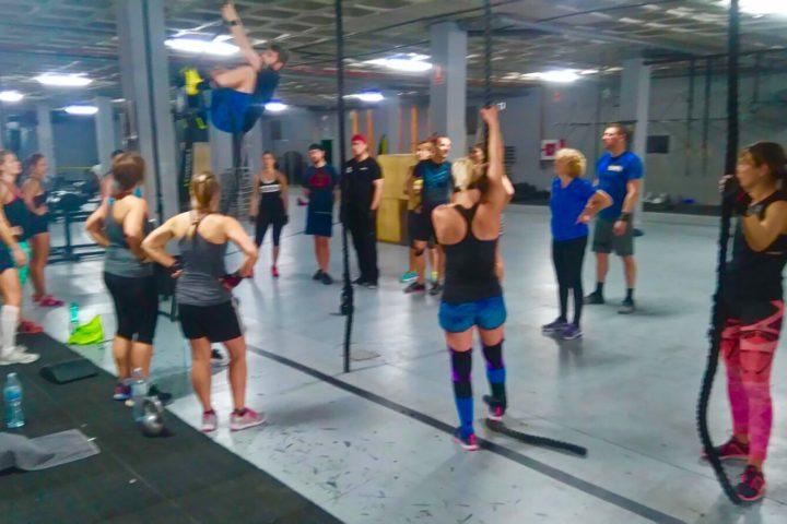 intensive CrossFit Einheit