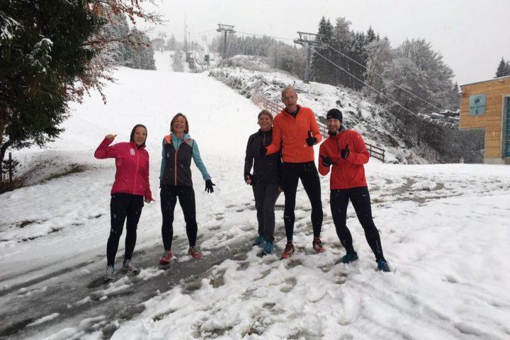 Jogging im Schnee