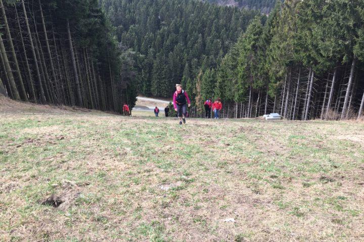 unsere Wanderung zum Kahler Asten im März 2017
