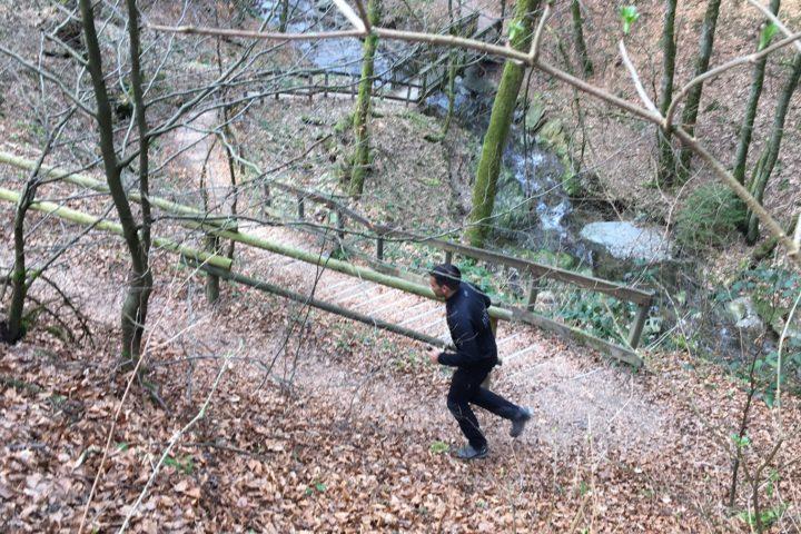 Joggingeinheit in Winterberg - März 2017