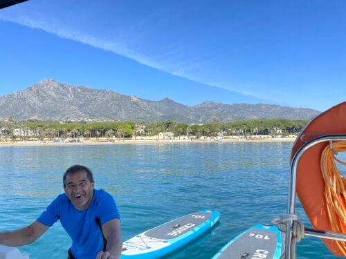SUP Tour - 5 km Stand Up Paddling in Marbella - Spanien