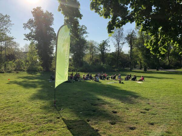 Entspannung im Hofgarten