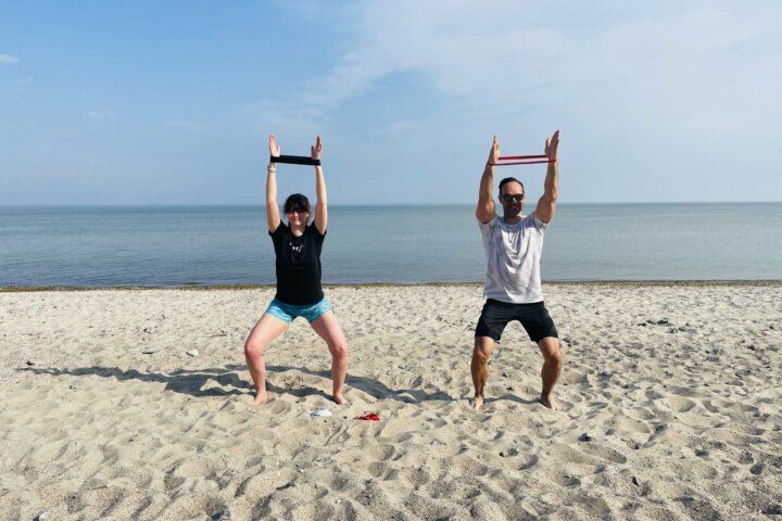 Fitnessreise Ostsee