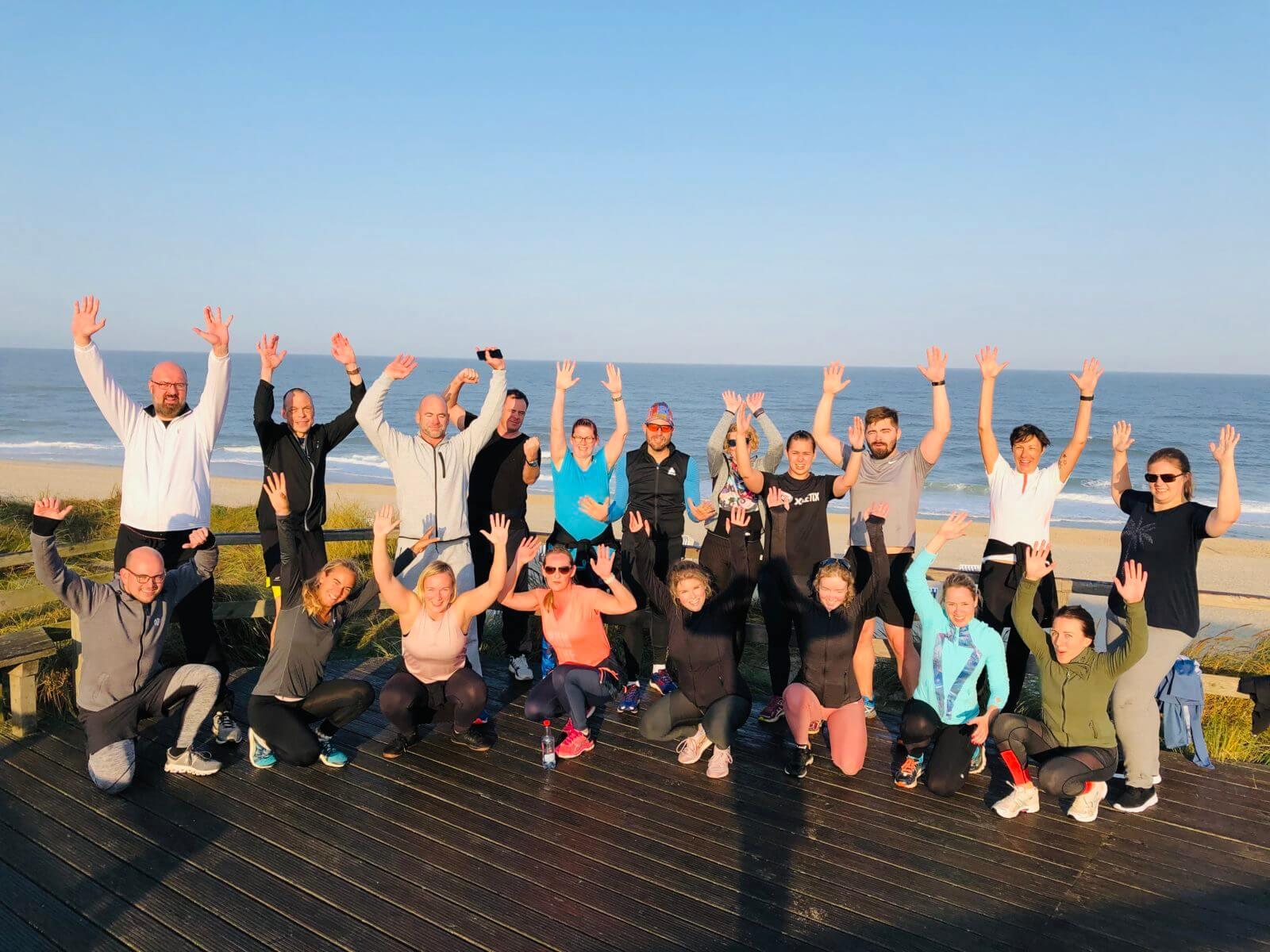 Bootcamp Deutschland - Fitness am roten Kliff auf Sylt