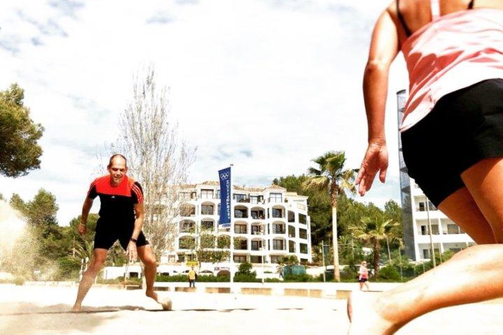 Fitnessreise am Strand von Paguera