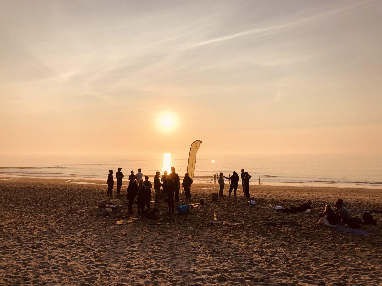 Sportreise Deutschland - Sonnenuntergang am roten Kliff auf Sylt