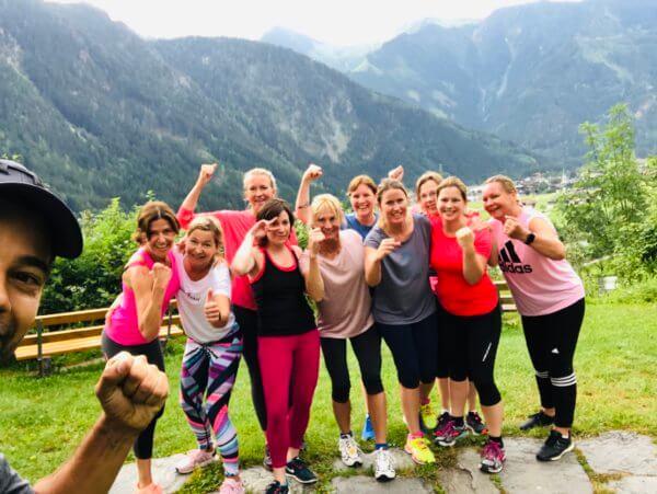 Teamspirit in Österreich