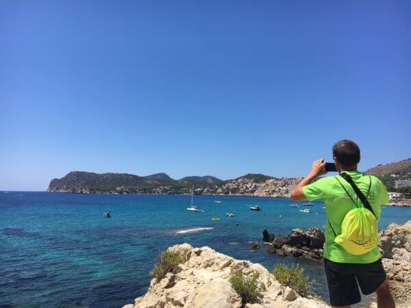 Paguera bietet Sandstrand und kleine Buchten