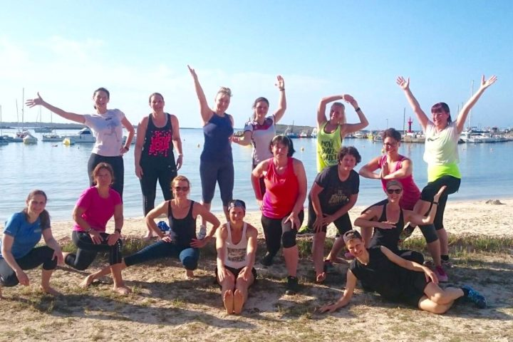 Teambuilding bei den Fitnesseinheit