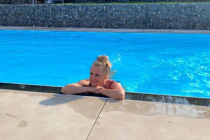 Wunderbarer Pool - Fitnessreise Mosel