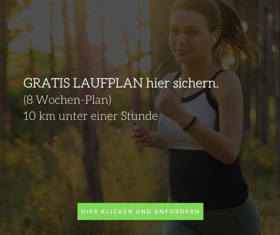 Laufplan 10 km unter einer Stunde