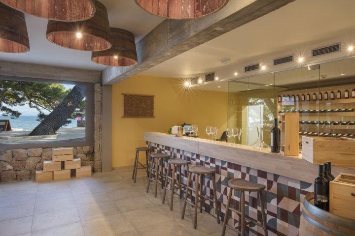 Hotel Bluesun Solline - neue Weinbar im Hotel