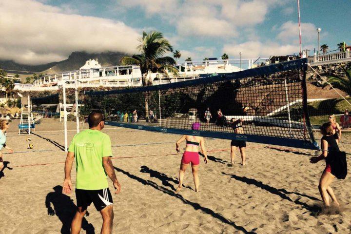 Beachvolleyball im Fitnessurlaub