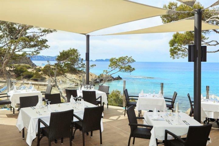 Restaurant Terrasse im Hotel Lido Park - ein weiteres Highlight im Lido Park ist die großzügige Terrasse mit Meerblick