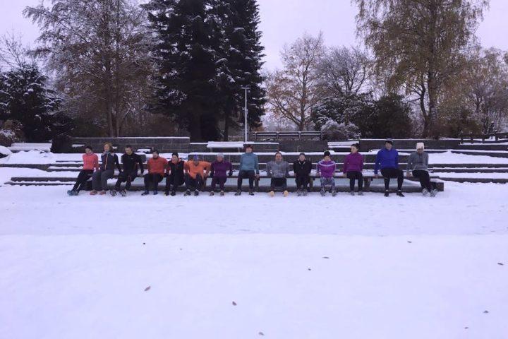 Bootcamp im Schnee