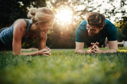 Fitnessauszeit