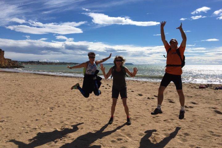 Traumhafte Strandwanderung in Conil