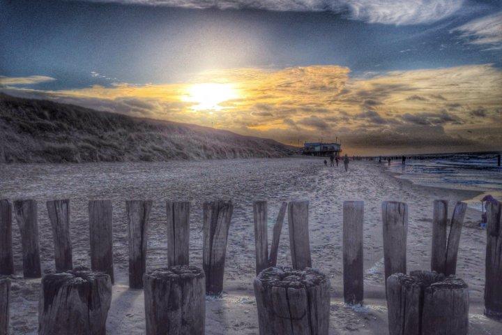 Traumhafte Abendstimmung am Strand