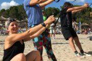 Aktivurlaub mit Fitness und Sport am Strand