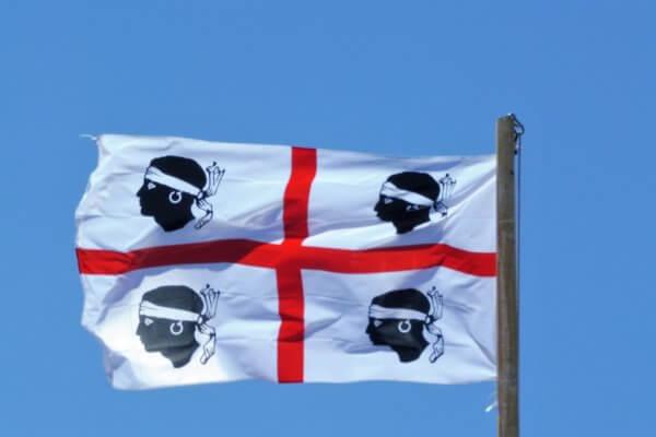 Flag Sardinien