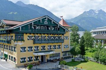 Aussenansicht Posthotel Mayrhofen