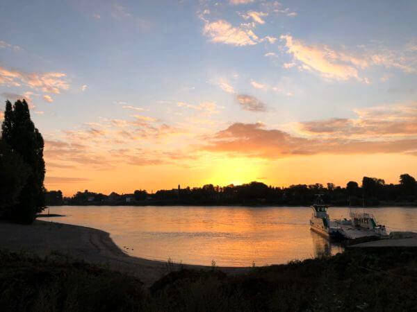 Laufcamp Sonnenaufgang